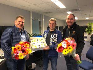 Gerbera United beloont P.van Dam